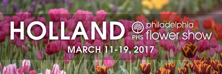 The Philadelphia Flower Show cover