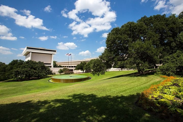 Lyndon Baines Johnson Library and Museum cover