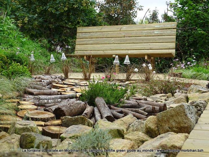 Camping la Fontaine du Hallate en Morbihan cover