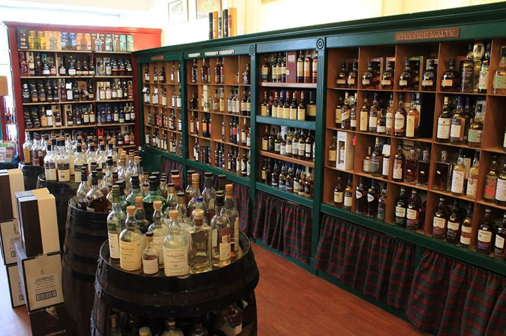 The Whisky Shop Dufftown cover