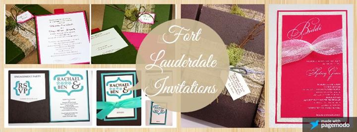 fort lauderdale invitations fort lauderdale united states