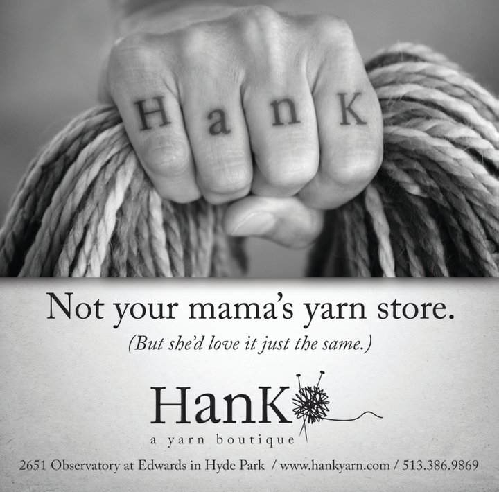 Hank, A Yarn Boutique cover