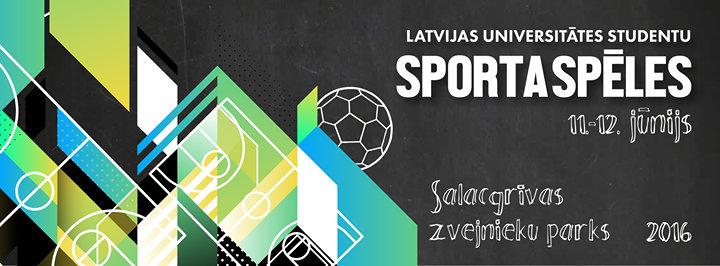 LU studentu Sporta spēles cover