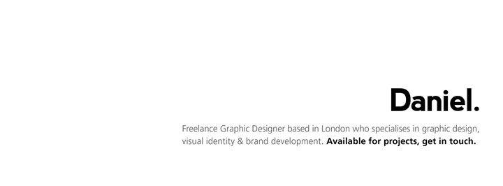 Daniel Watson - Graphic Designer cover