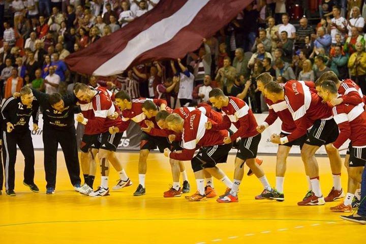 Latvijas Handbola federācija cover