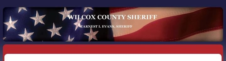 Wilcox County Sheriff's Office cover