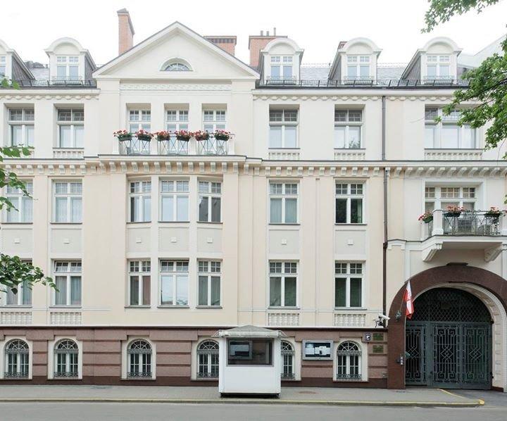 Ambasada RP w Rydze / Polijas Republikas vēstniecība Rīgā cover