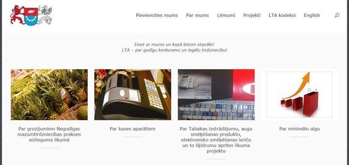 Latvijas Tirgotāju asociācija cover