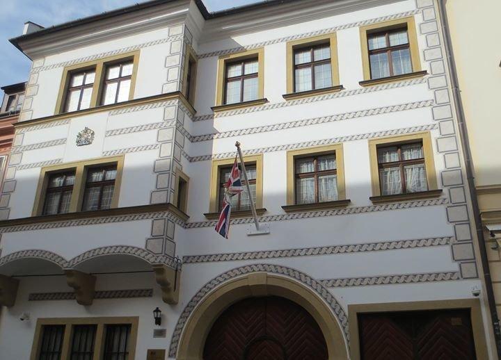 British Embassy, Bratislava cover