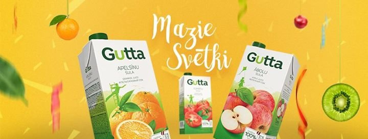 Gutta Latvija cover