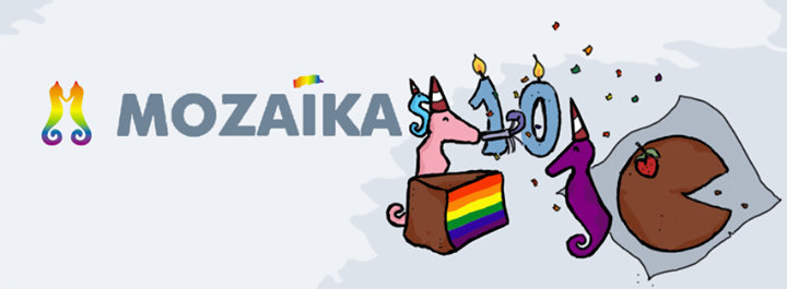 Association of LGBT and their friends Mozaika cover