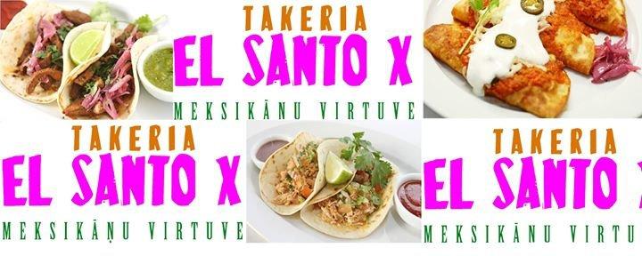 El Santo X cover