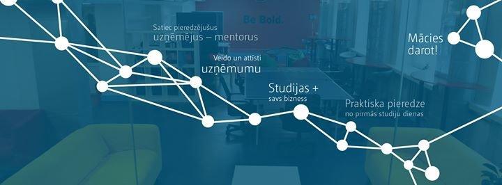 Biznesa augstskolas Turība StartUp akadēmija cover
