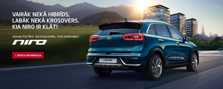 Kia Motors Latvija cover