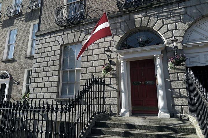 Latvijas vēstniecība Īrijā / Embassy of Latvia in Ireland cover