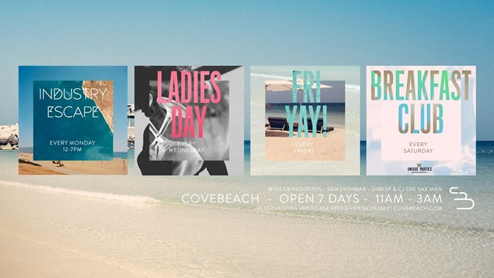 COVE BEACH DUBAI cover