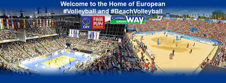 CEV - European Volleyball cover