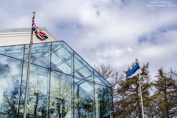 British Embassy Tallinn cover