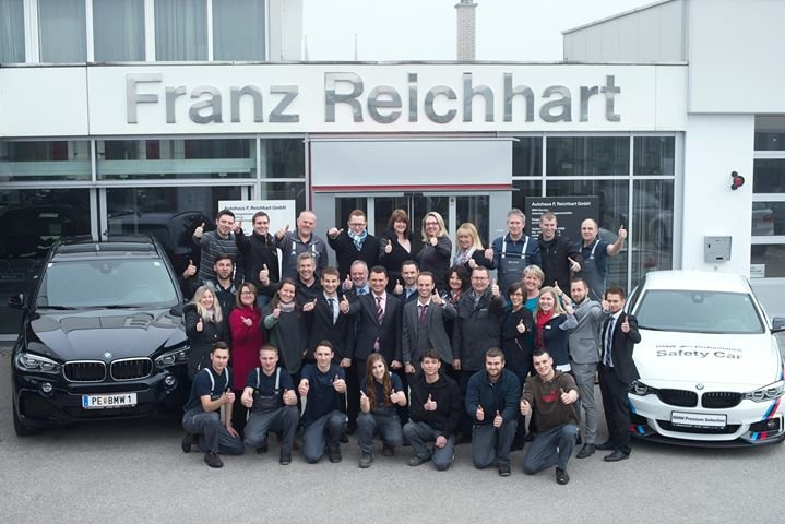 Autohaus BMW Reichhart cover