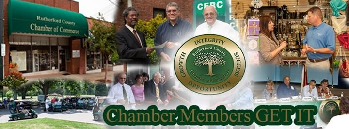 Rutherford County Chamber of Commerce cover