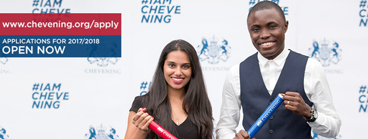 The Official Chevening Page cover