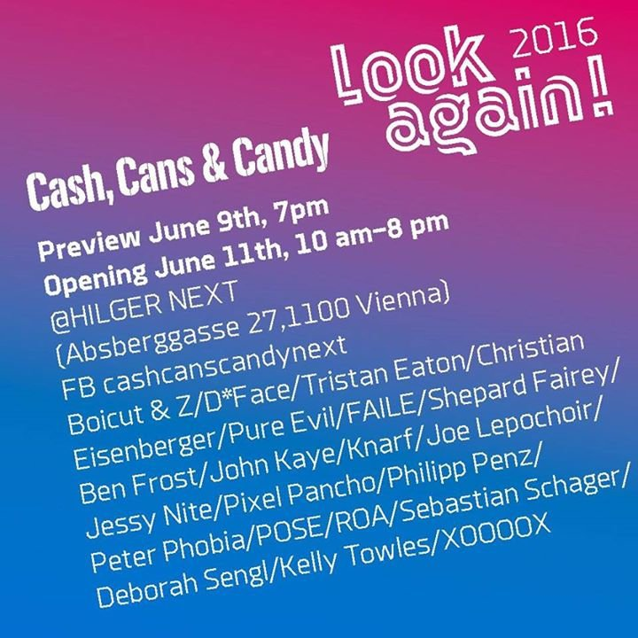 Cash, Cans & Candy // NEXT cover