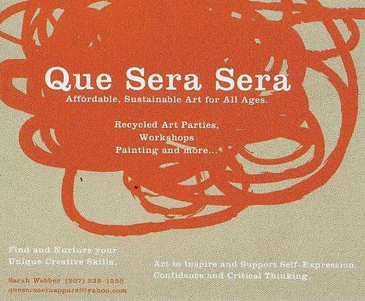 Que Sera Sera Recycled Art / Sarah Webber cover