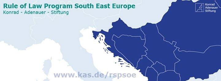 KAS Rule of Law Program South East Europe cover