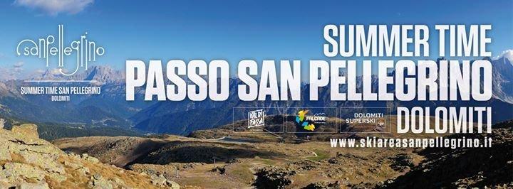Passo San Pellegrino - Dolomiti cover