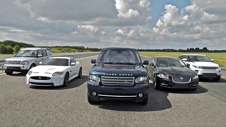Jaguar Land Rover Latvija cover