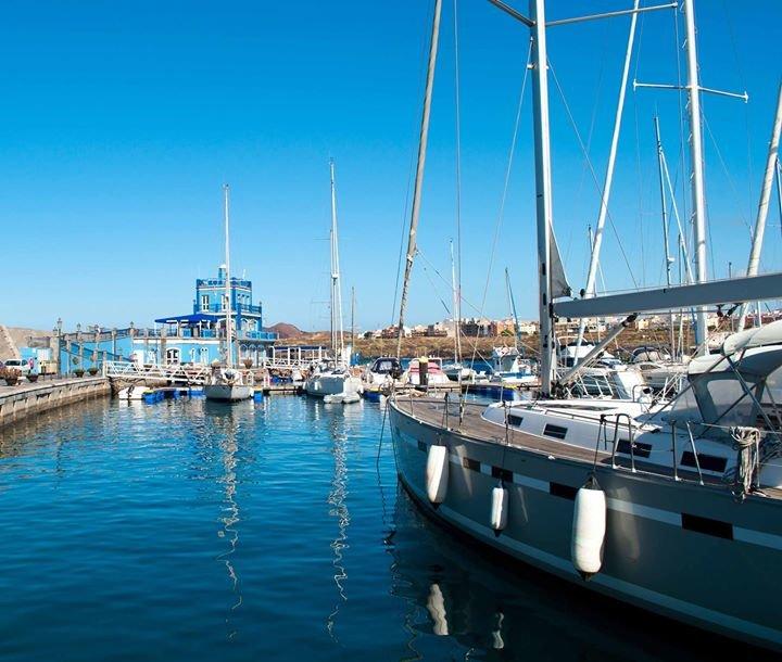 Marina del Sur Tenerife.  Puerto deportivo Las Galletas cover
