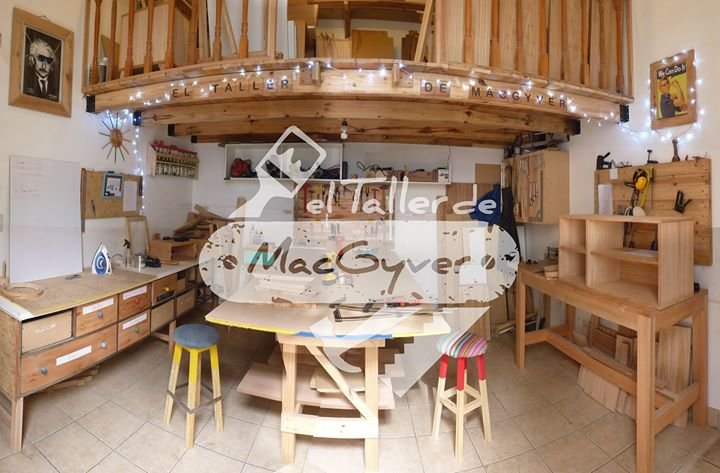 El taller de MacGyver cover