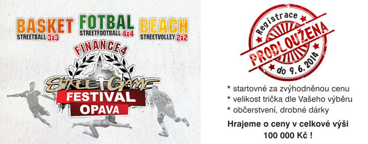 Street Game Festival Opava cover