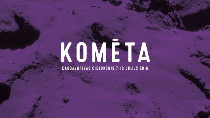 Festivāls Komēta cover