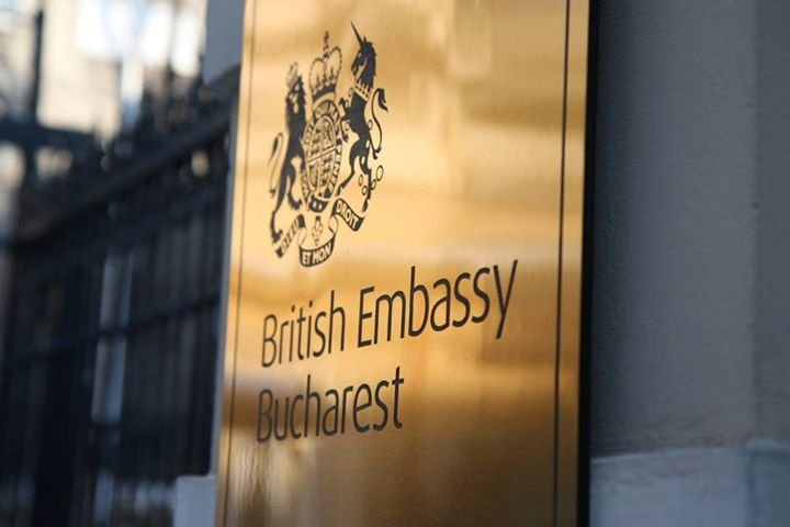 British Embassy Bucharest cover