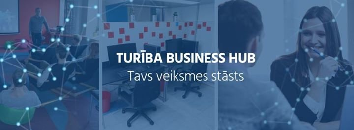Turība Business HUB cover