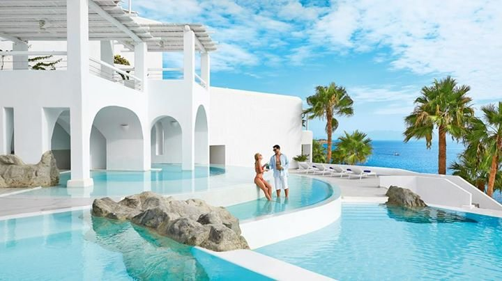 Mykonos Blu Grecotel Exclusive Resort cover