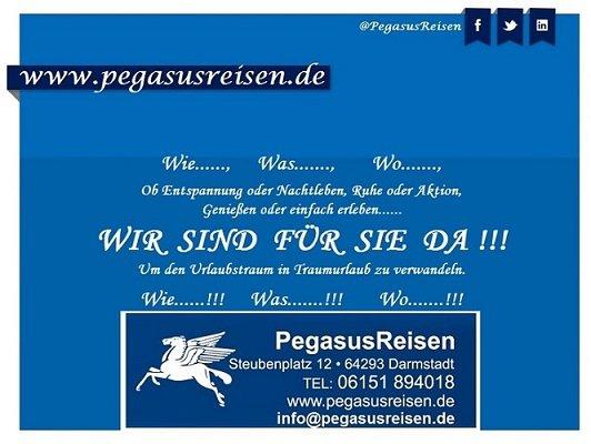 PegasusReisen cover