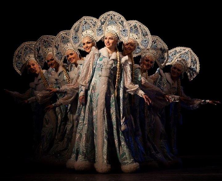Krasnoyarsk National Dance Company of Siberia named after M. Godenko cover