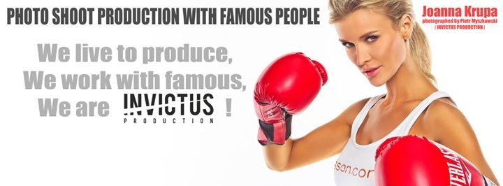 Invictus Production by Piotr Myszkowski cover