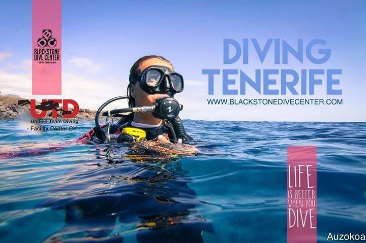 Blackstone Dive center Tenerife cover