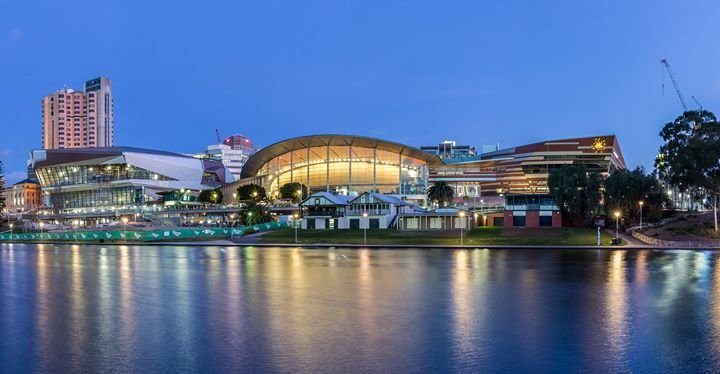 Adelaide Convention Centre cover