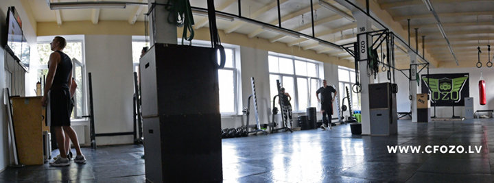 OZO Strength & Conditioning cover