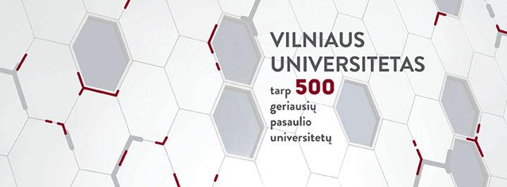 Vilniaus universitetas / Vilnius University cover
