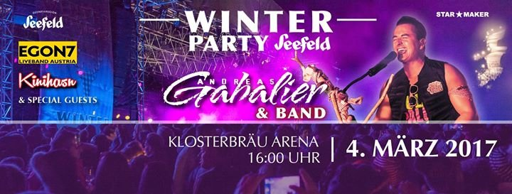 Winterparty Seefeld cover