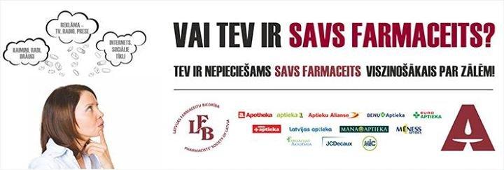 Latvijas Farmaceitu biedrība cover