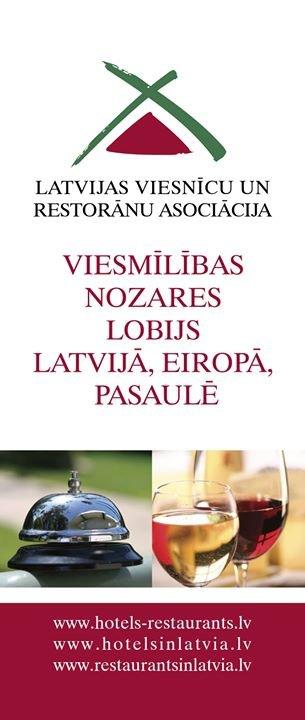 LVRA - Latvijas Viesnīcu un restorānu asociācija cover