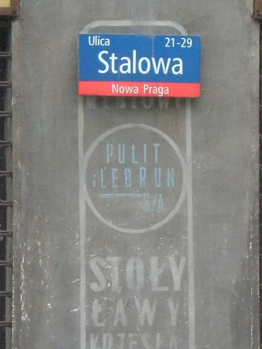 Ulica Stalowa cover