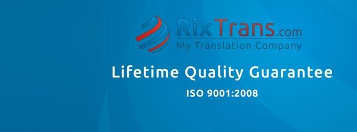 RixTrans Translation Company cover