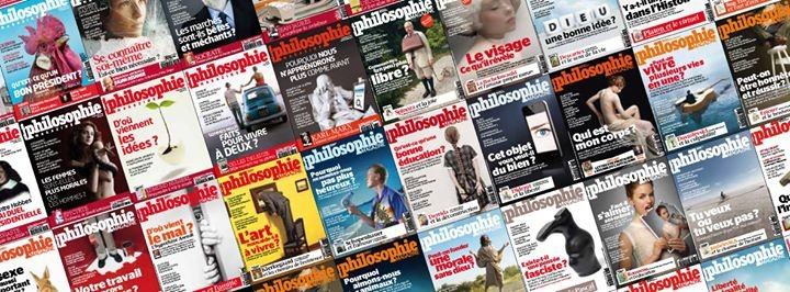 Philosophie magazine cover